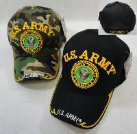 Licensed US Army [Seal] Ball Cap *Assorted Colors